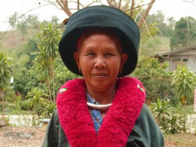 ミェン族の人たちの歴史と文化、刺繍の技術