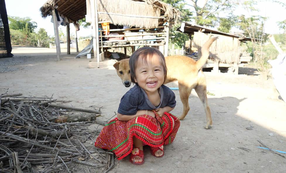 モン(Hmong)族のプリーツスカート_織り人(Orijin)