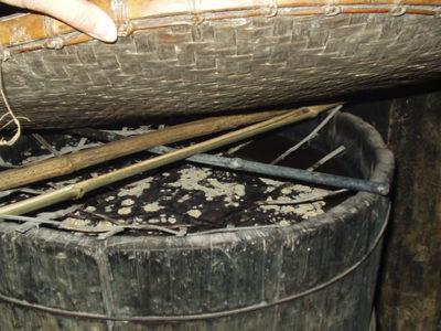 ベトナム黒モン(Hmong)族の藍染め