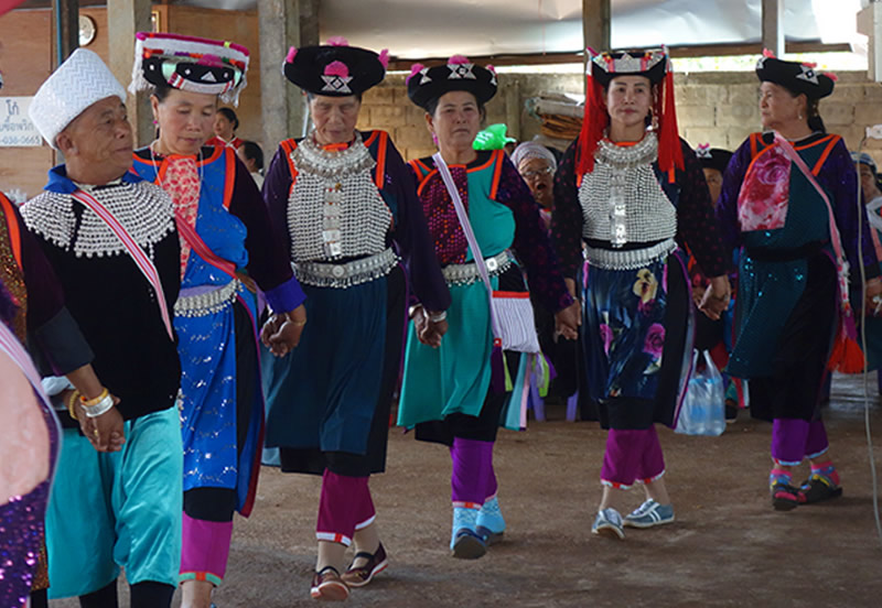 リス族の新年のお祭り