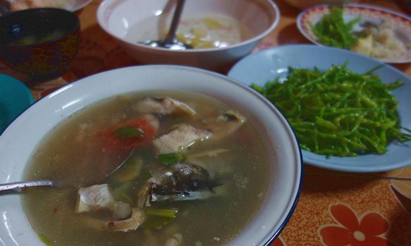 モン(Hmong)族のごはん