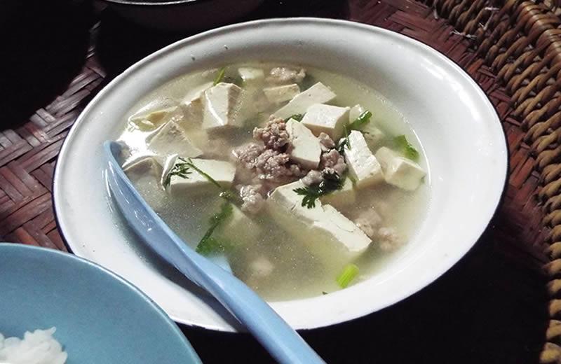 モン(Hmong)族の食事